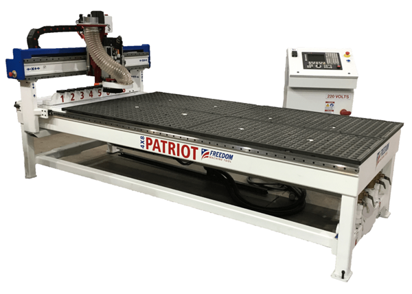 reedom Machine Tool Patriot CNC Router